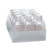 Media Storage Bottles, Case of 24, 1000ml, plastic, sterile