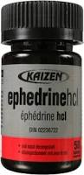 Clearance Ephedrine and Caffeine